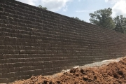 commercial retaining wall augusta ga