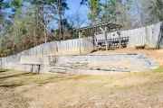 build a retaining wall augusta ga