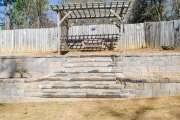 retaining wall with steps csra
