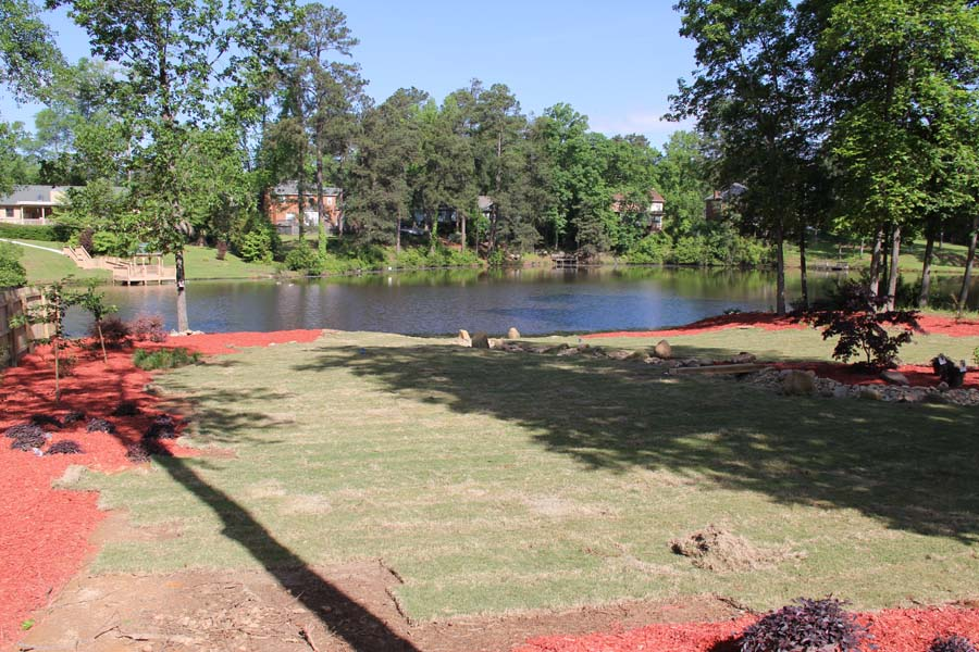 Evans, GA Yard Remodel - Landscaping, Lawn Care and ...