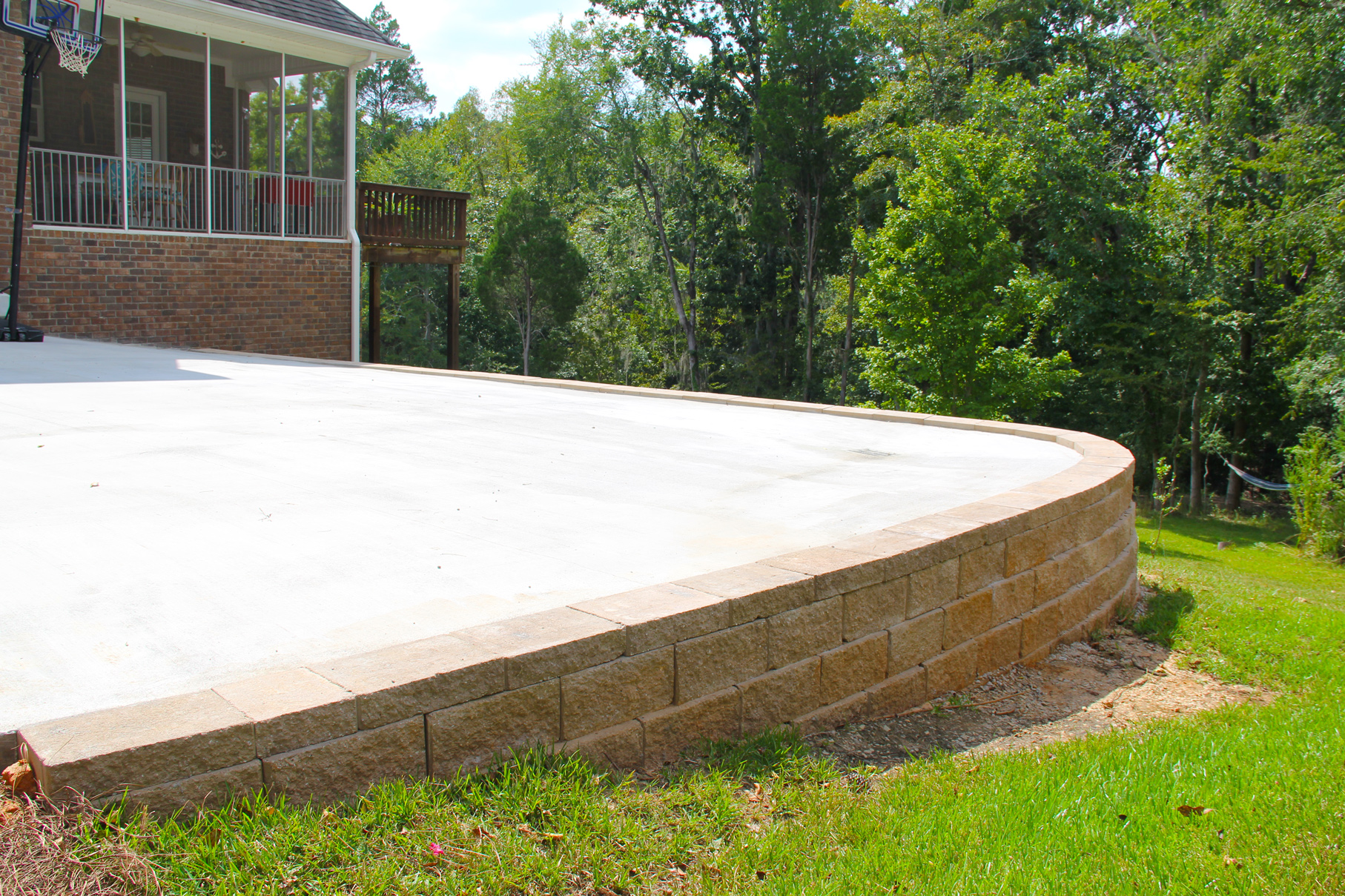 residential lanscaping landscaping lawn care and retaining