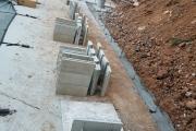 Pentablock retaining wall Aiken SC
