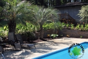 Poolside retaining wall augusta ga