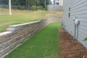retaining wall aiken sc
