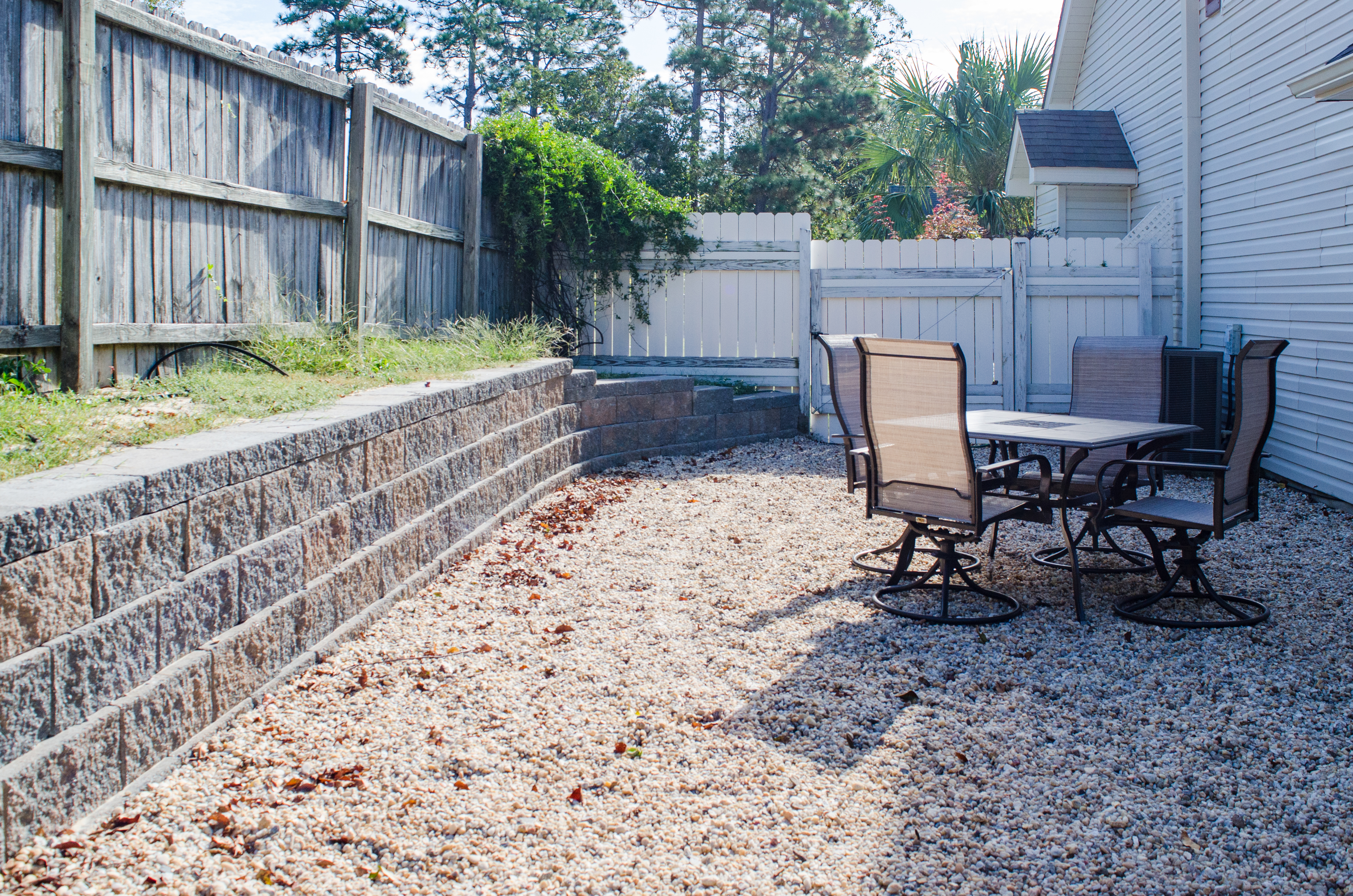 erosion protection for a sloped backyard landscaping lawn care
