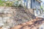 retaining wall with stairs augusta ga