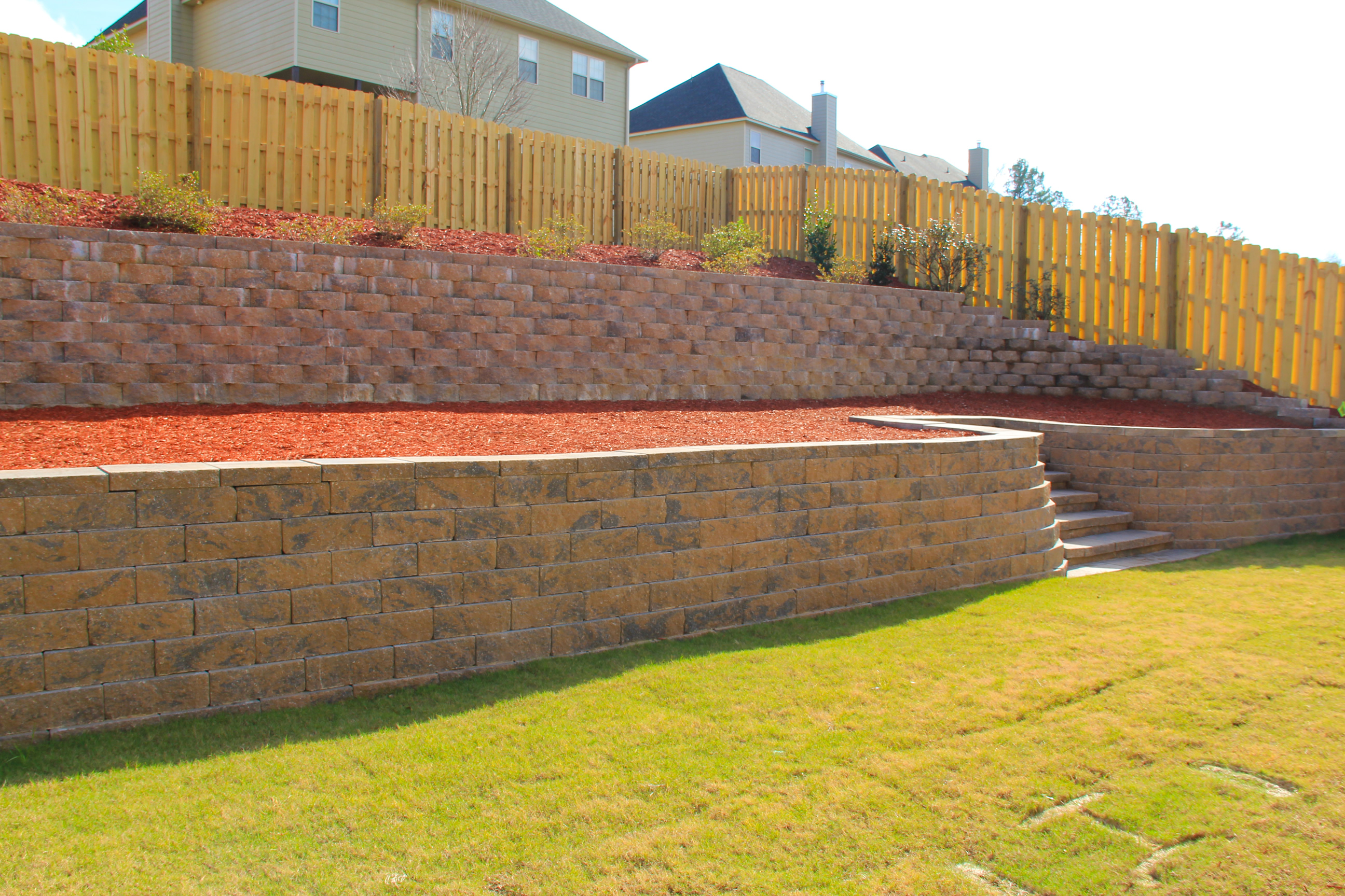 Retaining Walls Erosion Control Landscaping Lawn Care