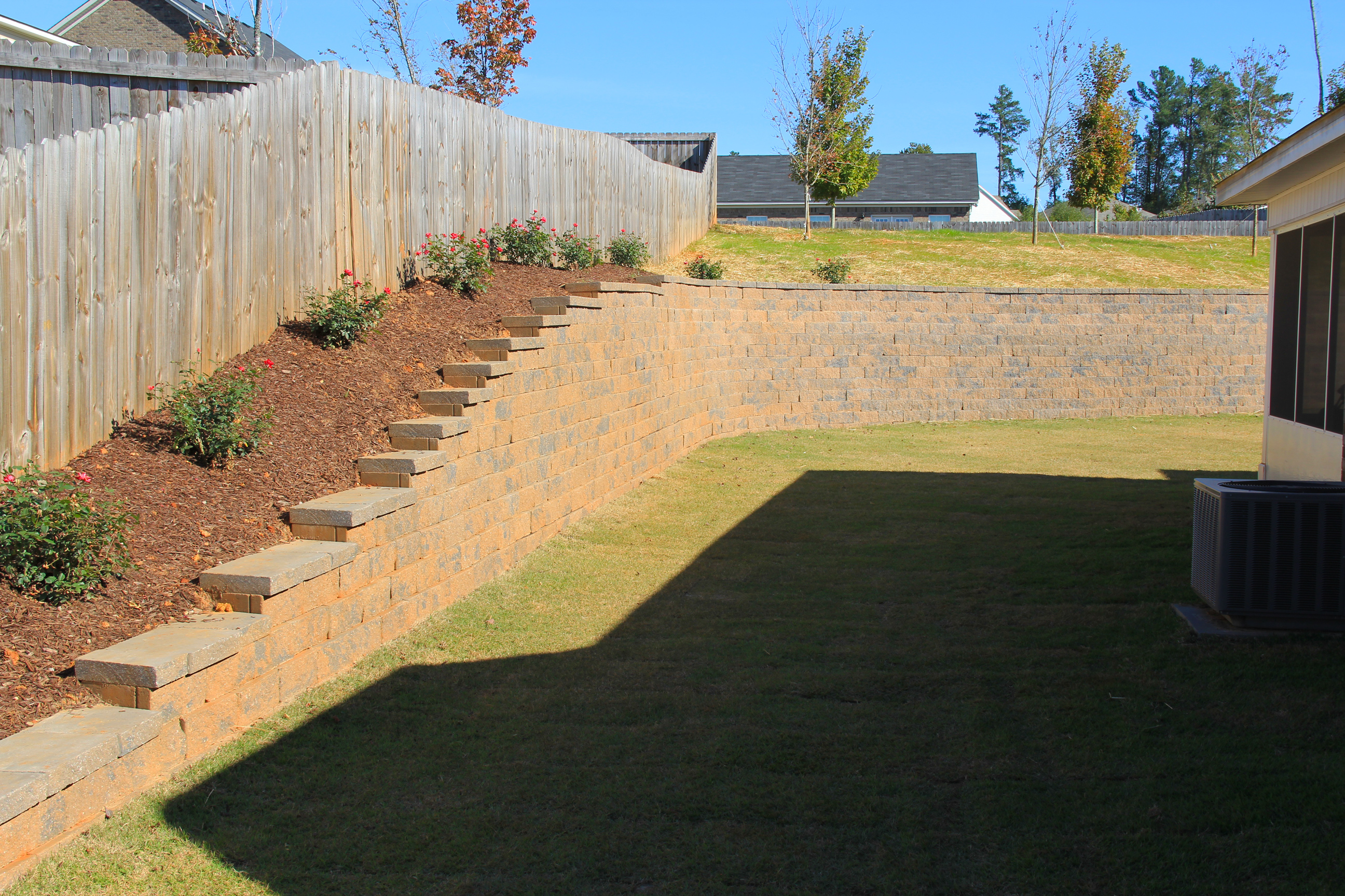 Erosion Control Wall Installed - Software Help