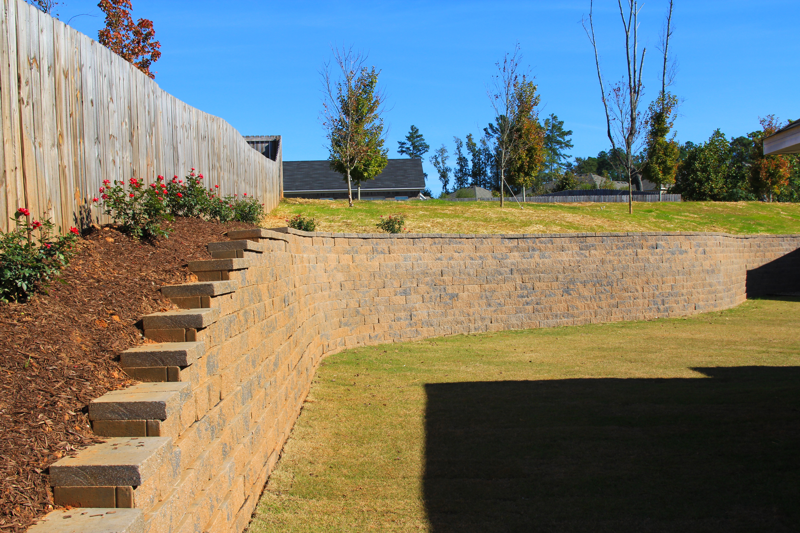 Nice Decorative Concrete Retaining Walls Elaboration - The Wall Art ...