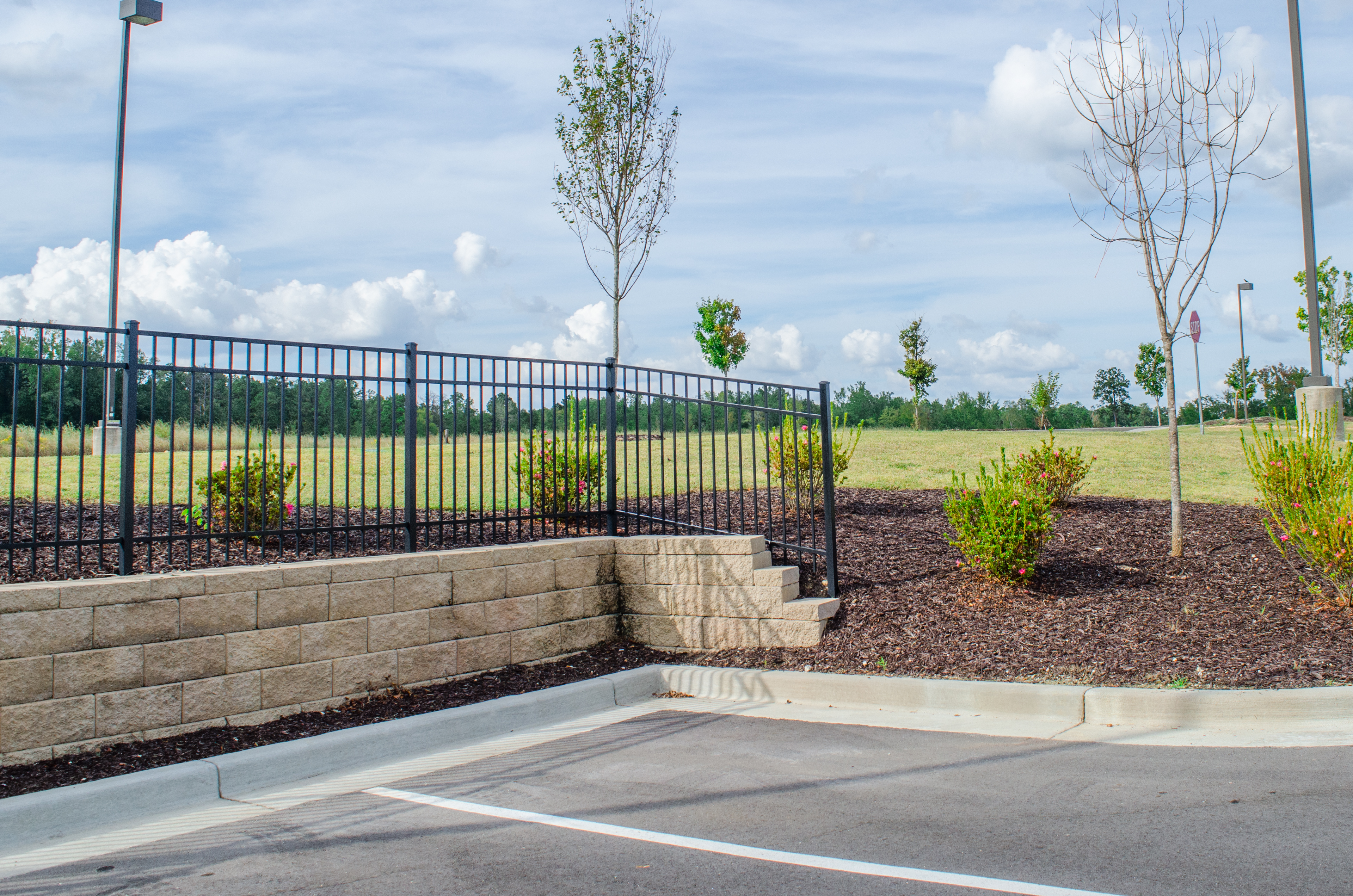 admin landscaping lawn care and retaining walls