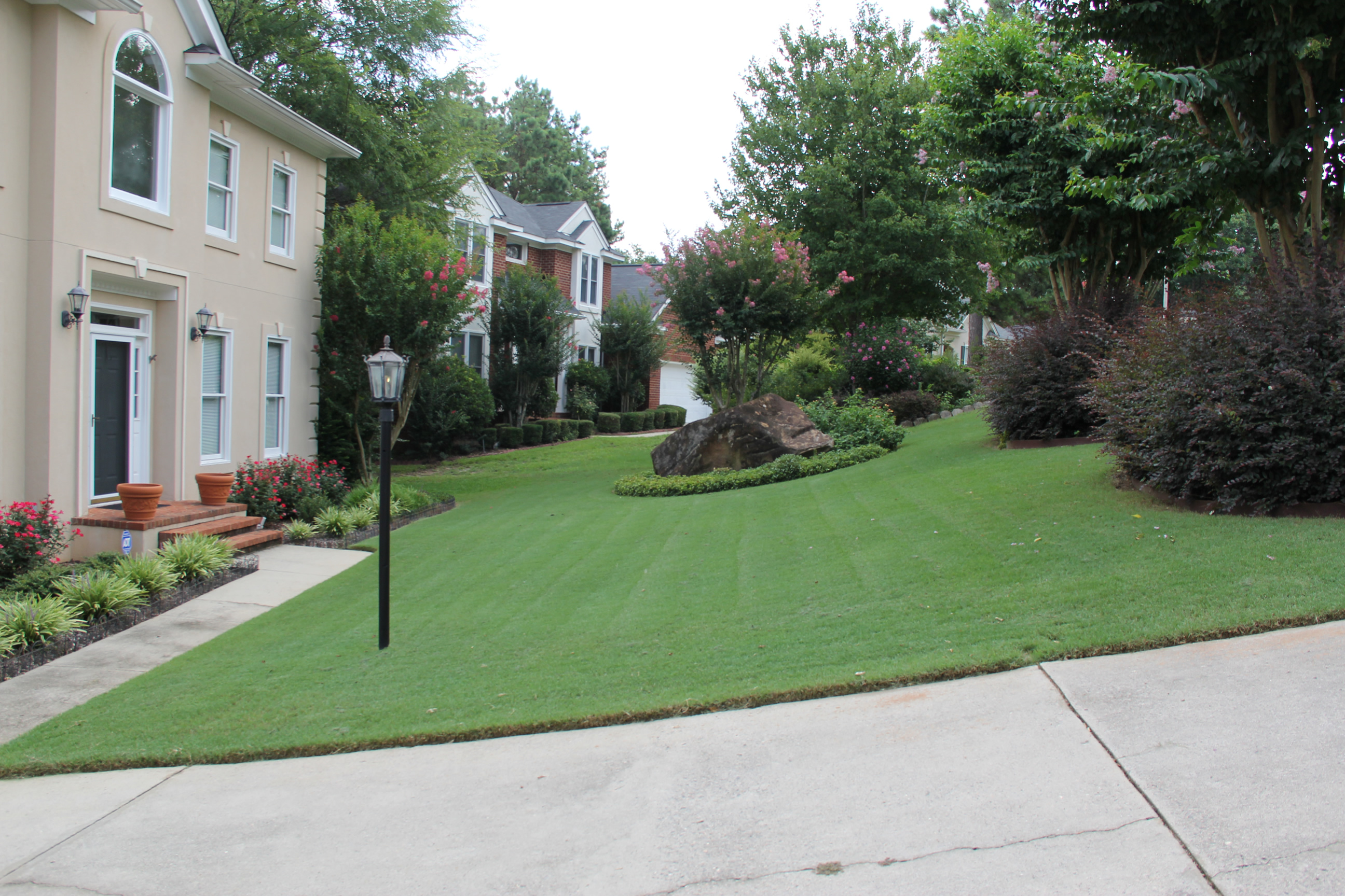 sod irrigation installation landscaping lawn care and