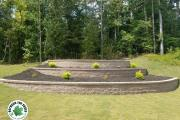 Retaining-wall-complete-Between-the-Edges-landscaping-GrovetownGA