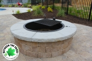 Fire-ring-fire-pit-installation-Between-the-Edges-AugustaGA