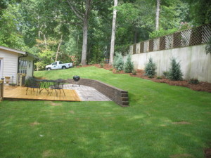 lawn care evans