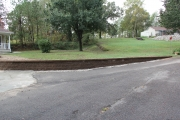 Retaining-wall-front-yard-Aiken-Between-the-Edges-landscaping