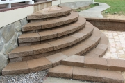 Side-view-rounded-front-steps-installation-Between-the-Edges-EvansGA