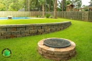 build a fire pit north augusta sc