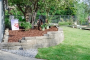 Curved Retaining Wall North Augusta SC