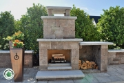Outdoor-fireplace-wood-storage-Between-the-Edges-GrovetownGA-landscaper