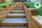 Steps-installation-landscaping-at-lake-BetweentheEdges-AugustaGA