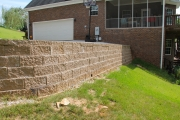 retaining wall north augusta sc
