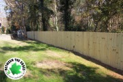 new-fence-installation-around-backyard-Between-the-Edges-landscaping-Augusta-GA