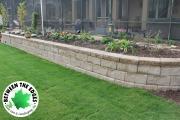 alt-view-retaining-wall-sod-flower-bed-Between-the-Edges-landscape-design-Evans-GA