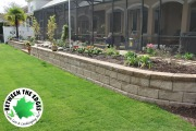 retaining-wall-landscaping-bed-Between-the-Edges-North-Augusta-SC