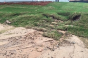 Erosion-control-before-landscaper-Augusta-Between-the-Edges