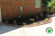 backyard-landscaping-mulch-paver-curbing-Between-the-Edges-Augusta-GA-landscaping
