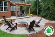Alt-view-firepit-stone-patio-landscaper-BetweentheEdges-AikenSC