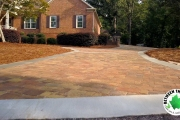 full-driveway-alt-angle-Between-the-Edges-landscaping-and-lawn-care-Augusta-GA