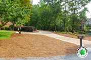 landscaping-and-updated-paver-driveway-Between-the-Edges-landscaper-Aiken-SC