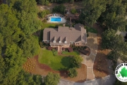 overhead-view-of-home-and-paver-driveway-Between-the-Edges-hardscaping-Evans-GA