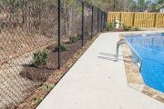 pool landscaping north augusta sc