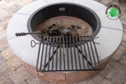 Fire-ring-cooking-grate-landscaping-projects-Between-the-Edges-NorthAugustaSC