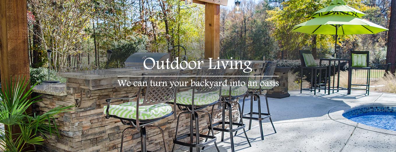 build outdoor kitchen evans ga